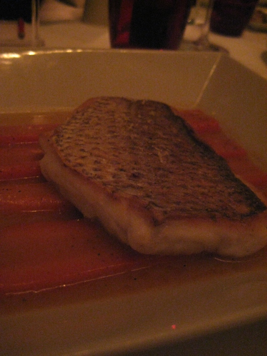 Impeccably delicious fish at Mix